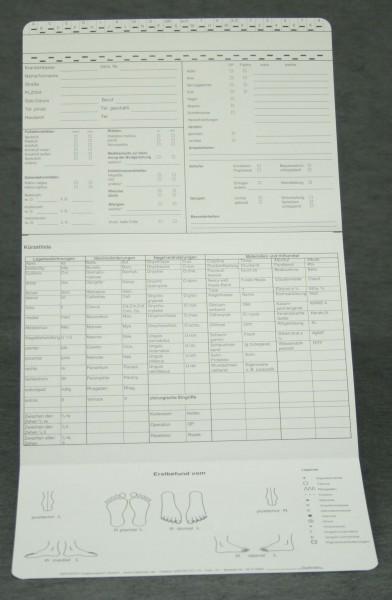 Dreifachkarte Podologie (2) DIN A5 quer