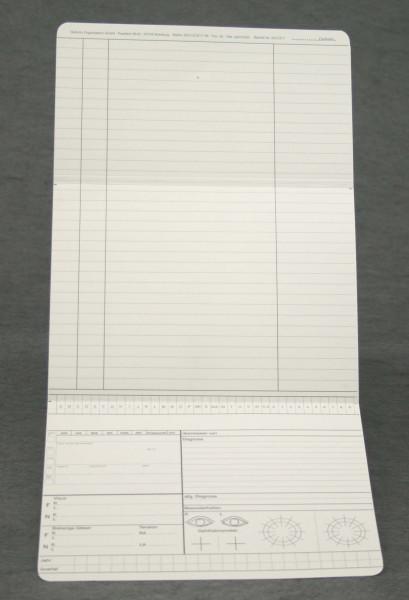 Dreifachkarte Augenarzt DIN A5 quer