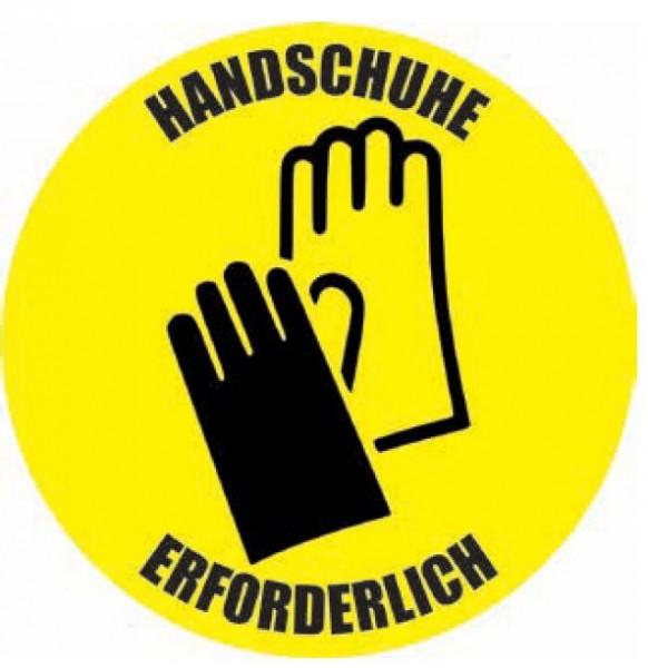 """Bodenaufkleber """"Handschuhe"""""""