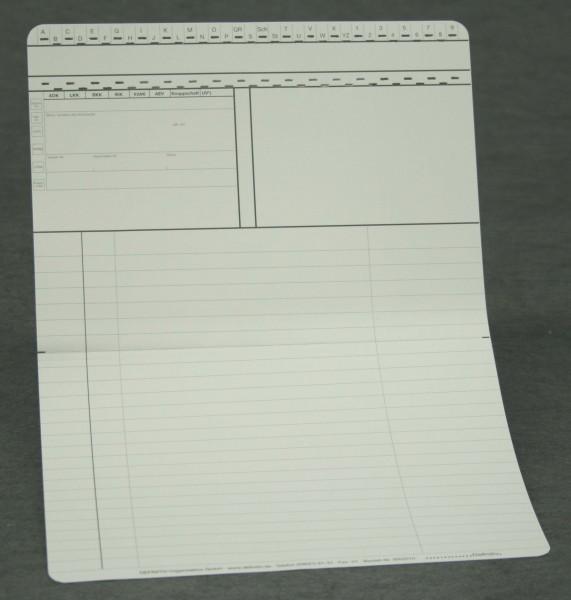 Doppelkarte neutral DIN A5 quer