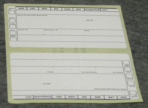 Adressaufkleber (95 x 55 mm)