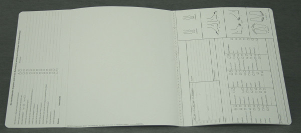 Dreifachkarte Orthopädie-Schuhtechnik DIN A4 quer